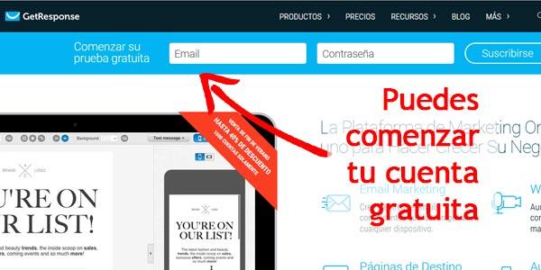 autoresponder en espanol gratis getresponse