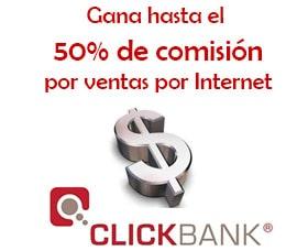 gana dinero por internet clickbank vender libros