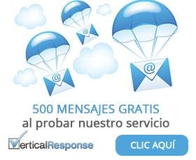 vertical response servicio email marketing gratis