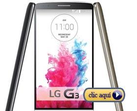 Mejores celulares del 2014: LG G3