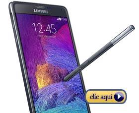 Mejores móviles del 2014: Samsung Note 4