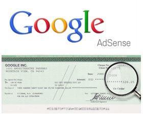 cuanto paga google adsense cheque