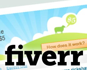fiverr make money online work