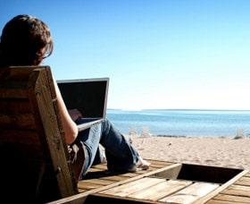 ganar dinero rapido sin internet empezar un blog sitio web