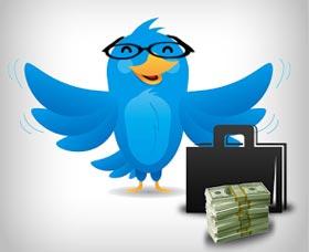 maneras de ganar dinero con twitter