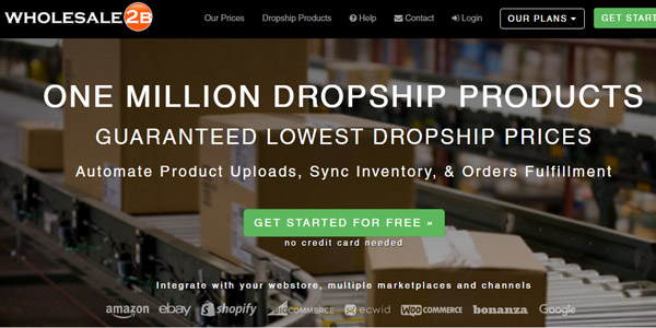 wholesale 2b proveedores dropshipping