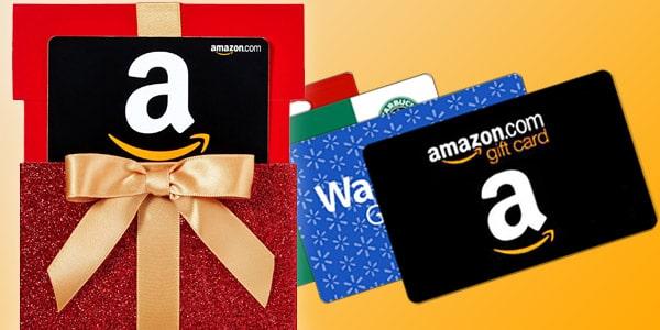 Amazon tarjetas de regalo en oferta