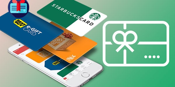 Aplicaciones que venden tarjetas de regalo