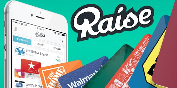 Raise com gift cards baratas