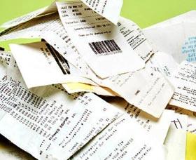 buscar los recibos para haver los taxes
