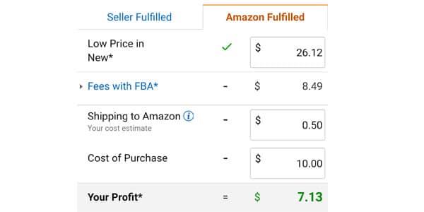calcular precios para vender en amazon