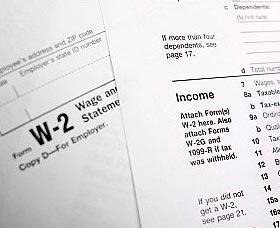 como hacer los taxes formulario w2
