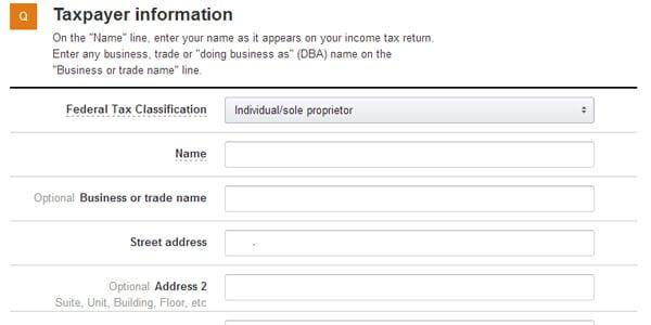 informacion de impuestos vender en amazon