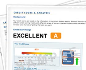 que es un reporte de credito vs puntaje de credito