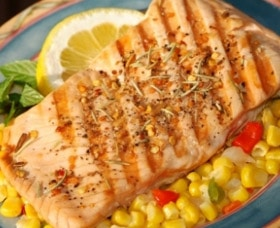 comer para perder peso comidas salmon