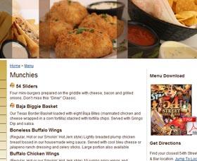 consultar menu de restaurante online quemar grasa corporal