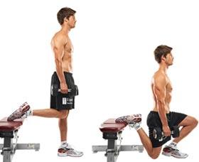 ejercicios para perder peso bulgaro en cunclillas