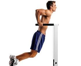 ejercicios quema grasa barras inmersiones