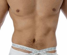 Secante de grasa abdominal
