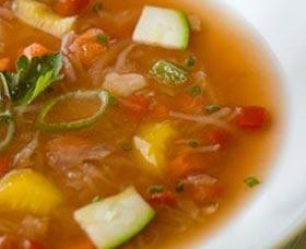 mejor sopa para perder peso en una semana