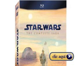 Regalos del Dia del Padre Series Stars Wars en Blu-Ray