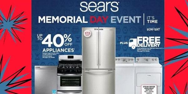 Sears memorial day ofertas