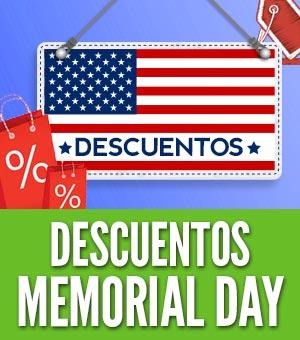 Descuentos memorial day cupones