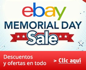 descuentos memorial day ebay