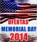 memorial day 2014 ofertas cupones descuentos