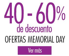memorial day ofertas descuentos cupones