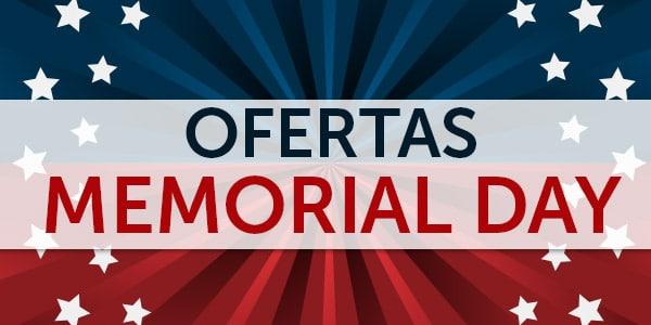 ofertas memorial day