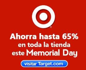 Ofertas target memorial day