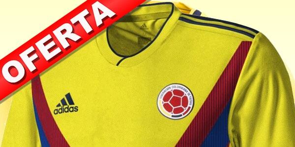 Camisetas de Colombia baratas futbol mundial