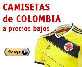 camisetas de colombia online baratas