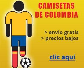 camisetas de colombia online