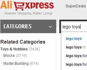 comprar en aliexpress buscar productos