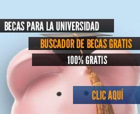 buscador de becas para pagar por la universidad