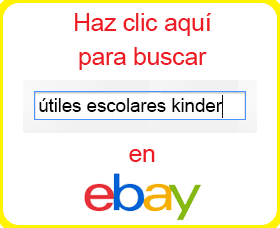 lista de utiles escolares kinder comprar por internet