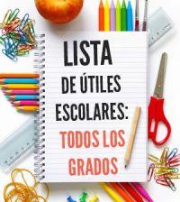 lista-de-utiles-escolares-materiales