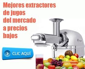 mejores extractores de jugos del mercado