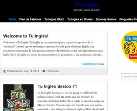 Clases de ingles online gratis Tu Ingles