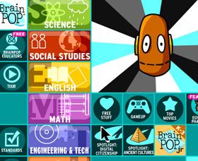 Clases de inglés para niños: Brain Pop
