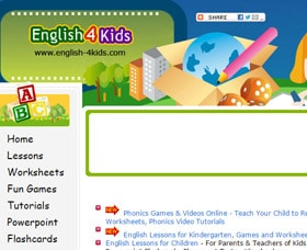 Clases de inglés para niños: English 4 Kids