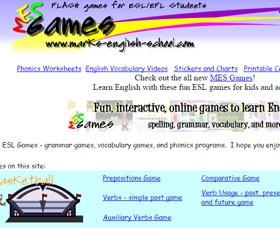 Clases de inglés para ninos MES Games