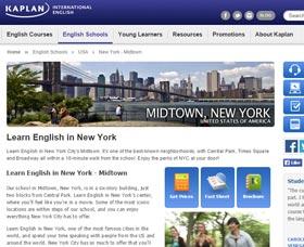 Cursos de inglés en Manhattan: Kaplan International Center