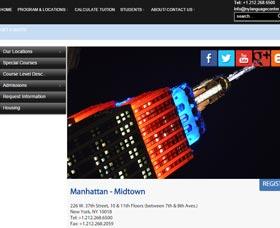 Cursos de inglés en Manhattan: New York Language Center