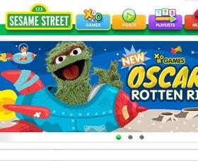 Juegos de inglés para niños: Juegos Sesame Street