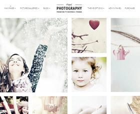 Mejores Plantillas WordPress para fotografía Tripod