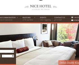 Mejores plantillas WordPress Nice Hotel