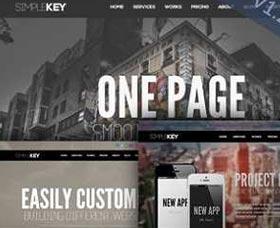 Mejores plantillas WordPress SimpleKey